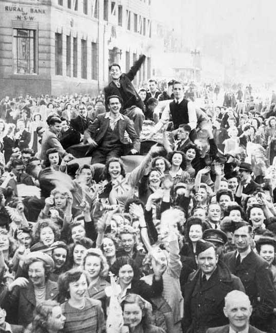 VP Day 1945