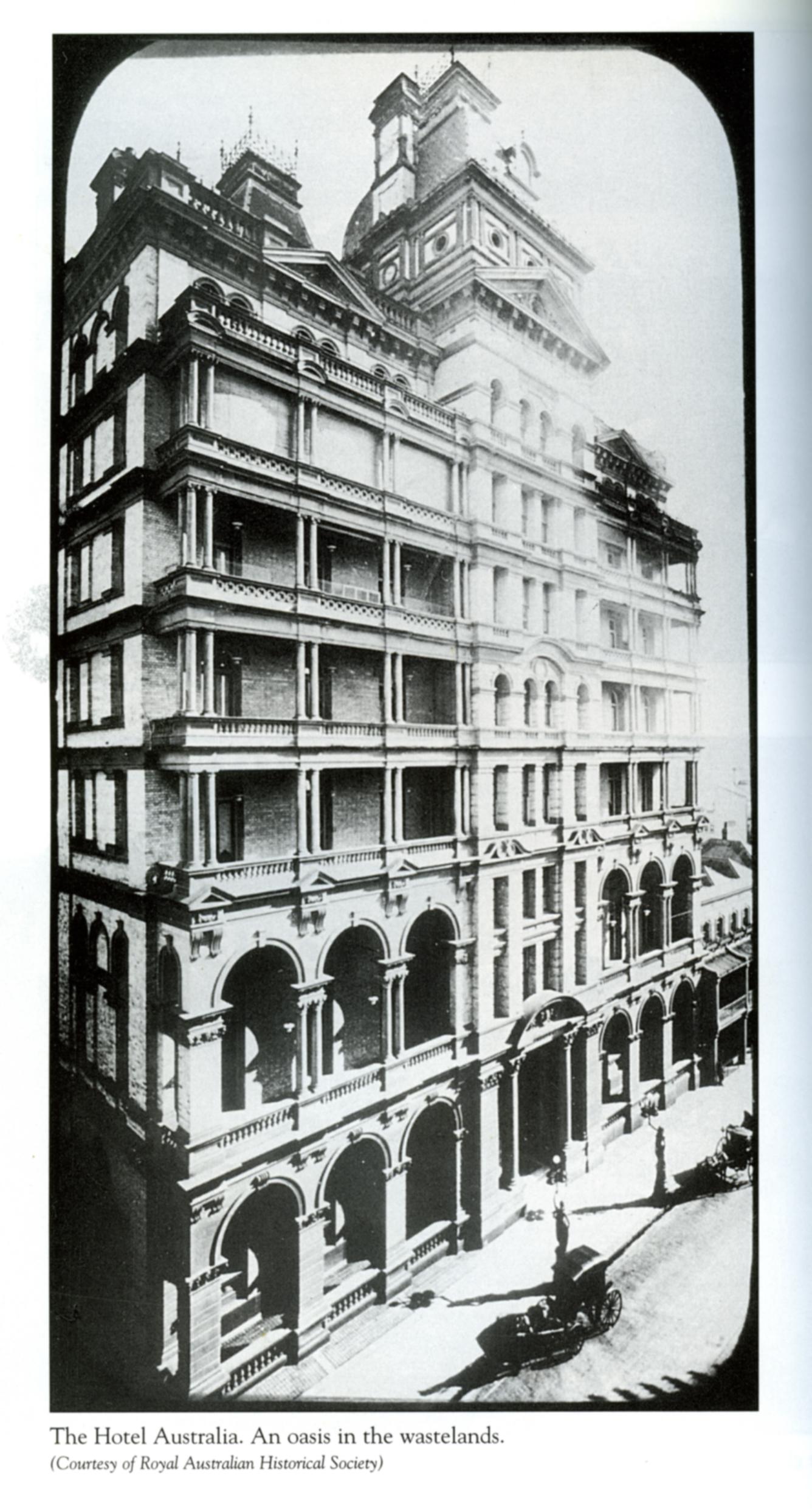 The Hotel Australia